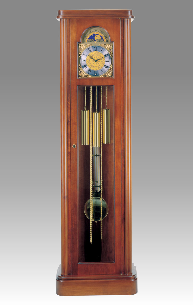 Grandfather clock Art.536/1 walnut