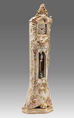 Grandfather Clock 514 lacquered and decoration with gold