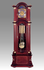 floor clock Art.521/2 mahogany