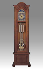 floor clock Art.526/1 walnut