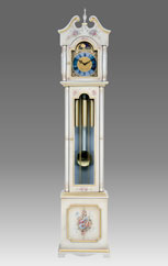 Grandfather Clock 528 lacquered and decorated
