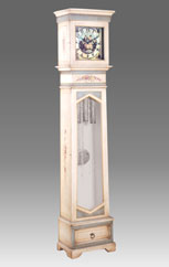 Grandfather Clock 541 lacquered and decorated