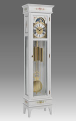 Grandfather Clock 554 lacquered and decorated
