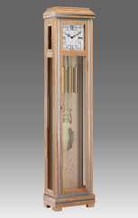 Grandfather Clock 566 ash with aluminum