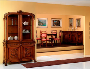 Liberty Dining-room Collection Furniture; Gaudì; Klimt; Fiore; GauguinNabis; Tolouse