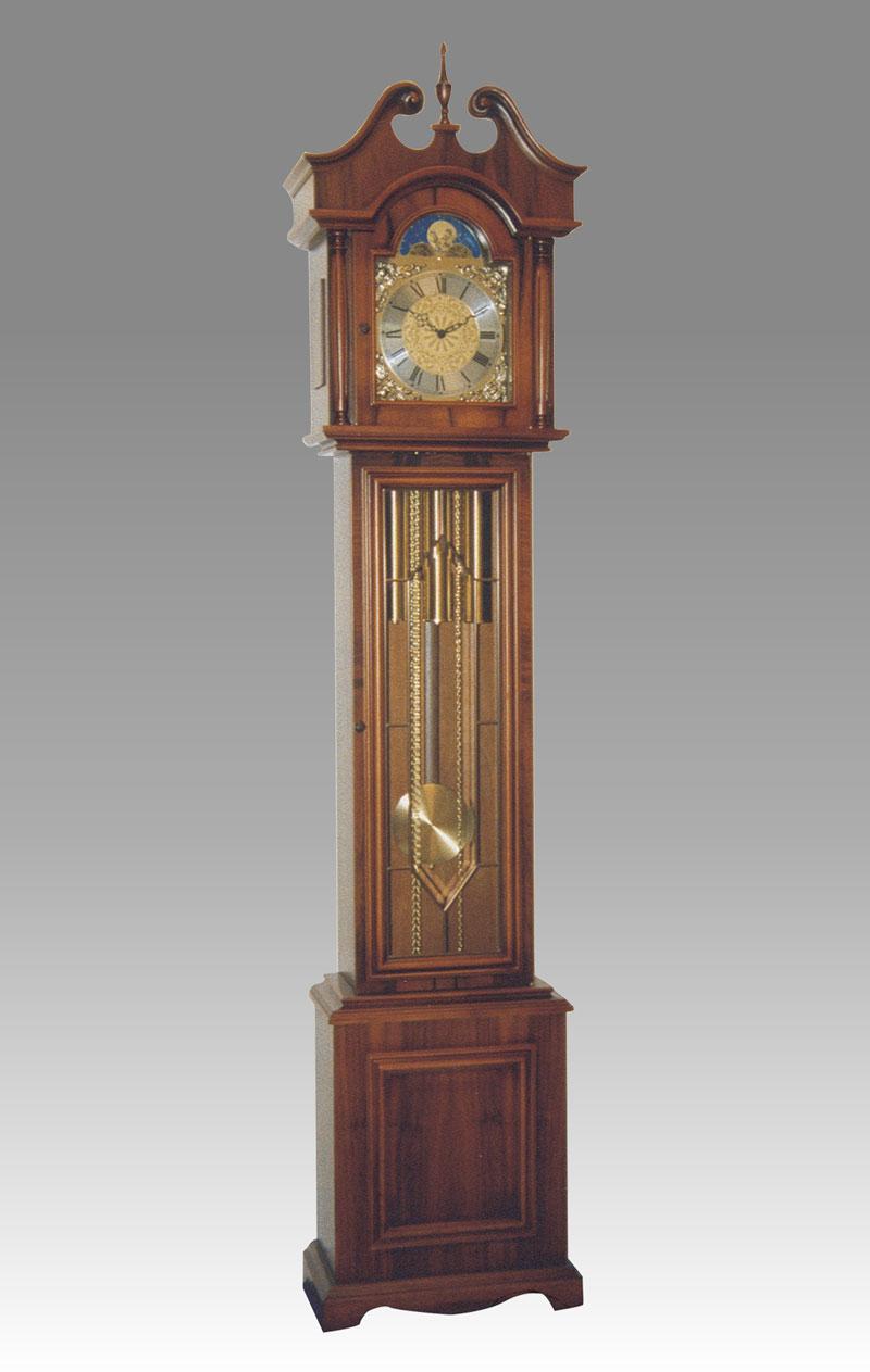 Grandfather clock for Consonni arredamenti